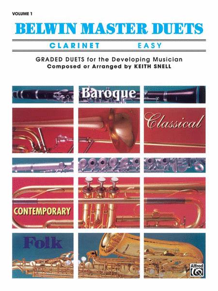 Belwin Master Duets (Clarinet), Volume 1