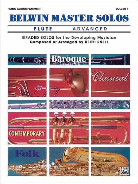 Belwin Master Solos (Flute), Volume 1