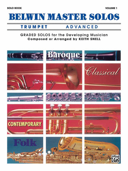Belwin Master Solos (Trumpet), Volume 1