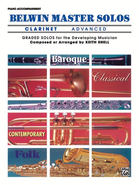 Belwin Master Solos (Clarinet), Volume 1
