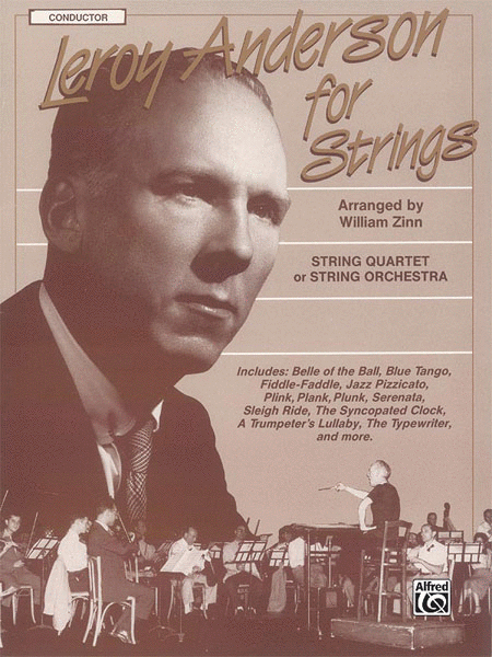 Leroy Anderson For Strings - Conductor Score