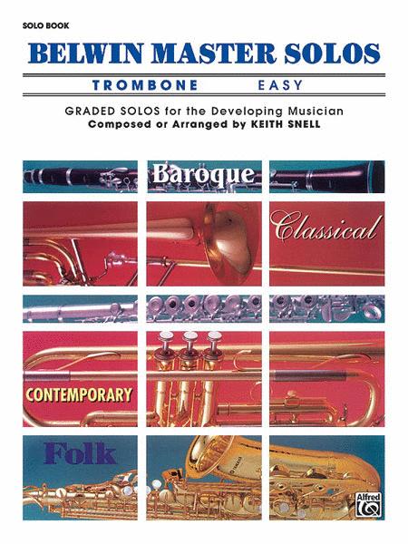 Belwin Master Solos (Trombone), Volume 1