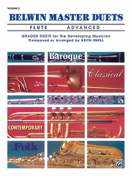 Belwin Master Duets (Flute), Volume 2