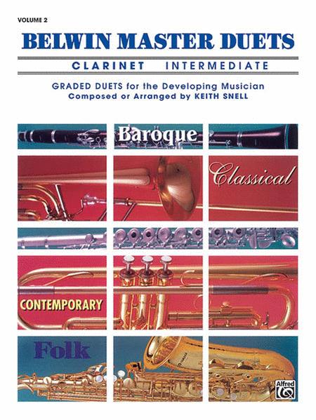 Belwin Master Duets (Clarinet), Volume 2