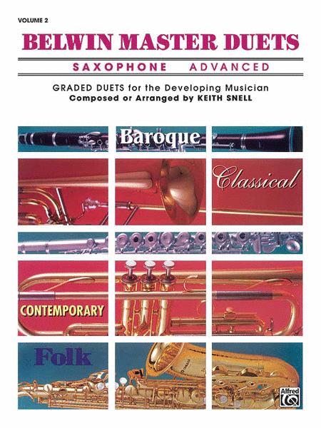 Belwin Master Duets (Saxophone), Volume 2