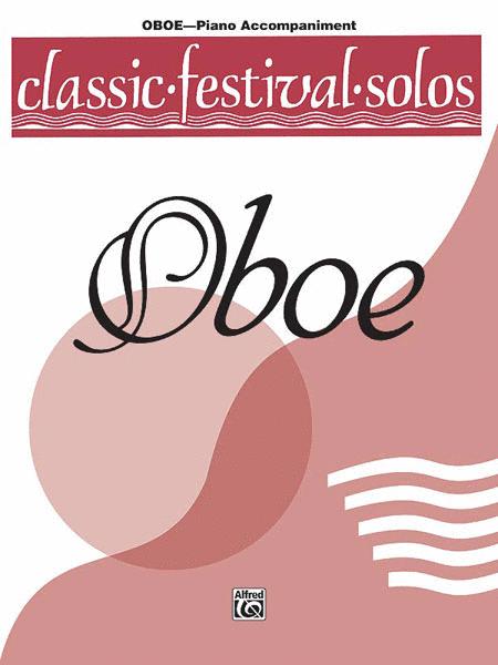 Classic Festival Solos (Oboe), Volume 1