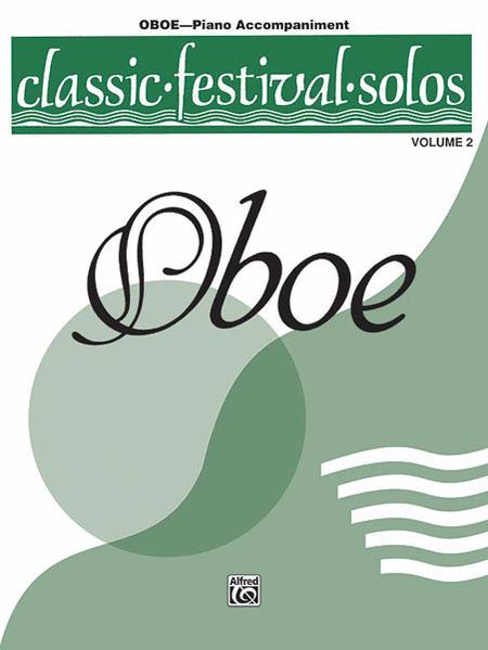 Classic Festival Solos (Oboe), Volume 2