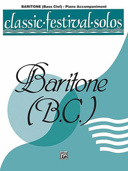 Classic Festival Solos (Baritone B.C.), Volume 2