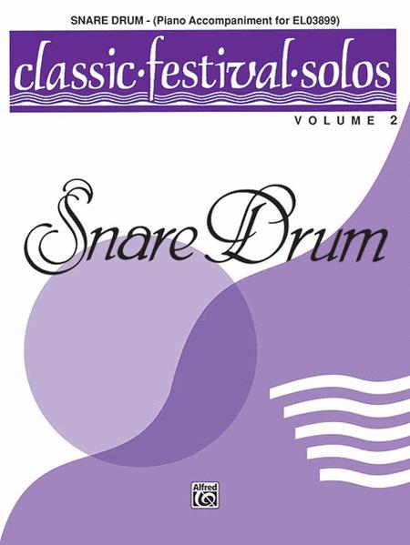 Classic Festival Solos (Snare Drum), Volume 2