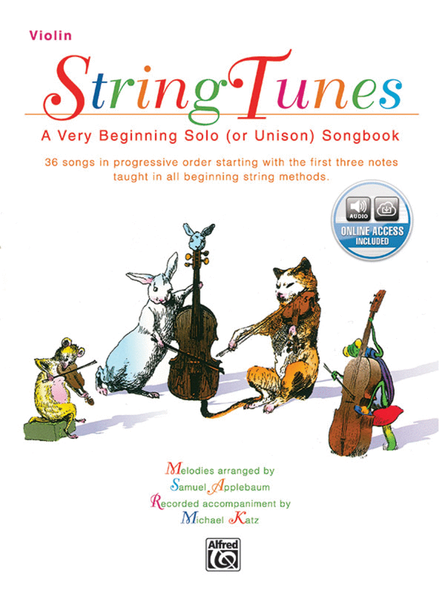 StringTunes -- A Very Beginning Solo (or Unison) Songbook