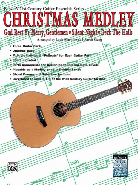 Belwin's 21st Century Guitar Ensemble -- Christmas Medley