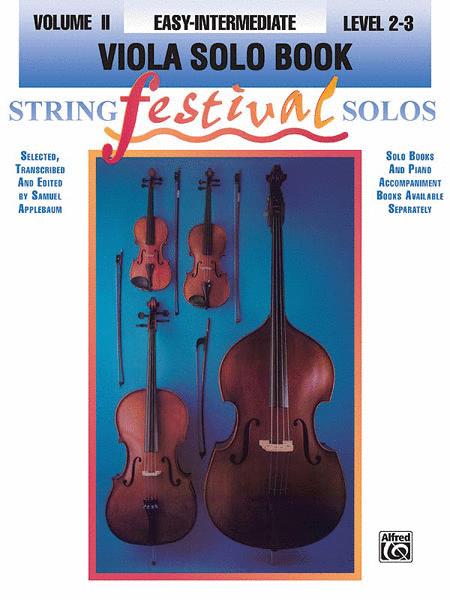 String Festival Solos, Volume 2