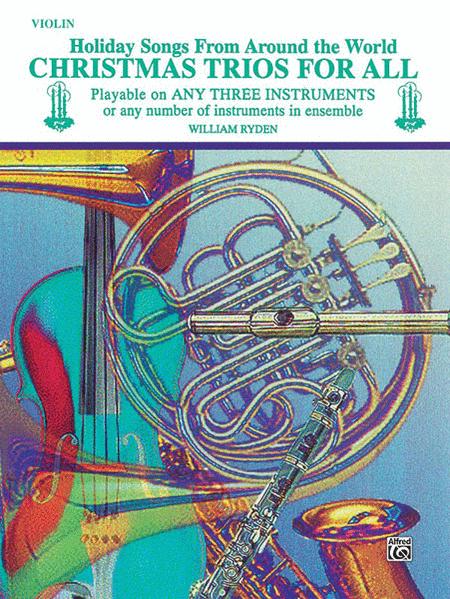 Christmas Trios For All (Violin)