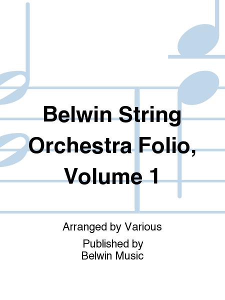 Belwin String Orchestra Folio, Volume 1