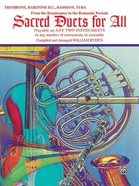 Saced Duets For All (Trombone/Baritone T.C.)