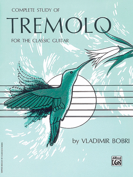 Classic Book Cover Guitar : Complete study of tremolo for the classic guitar sheet