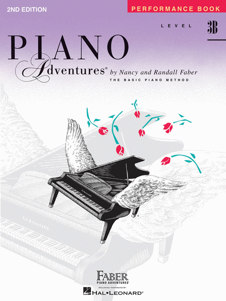 Piano Adventures Level 3B - Peformance Book