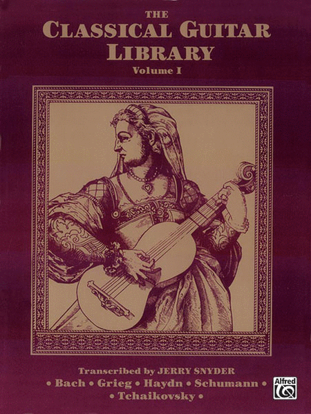 The Classical Guitar Library, Volume 1