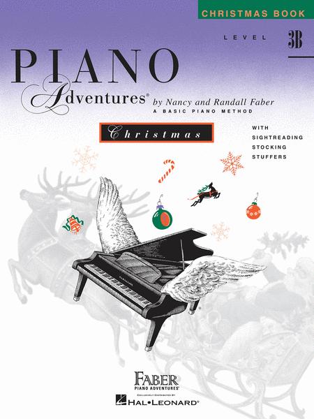 Piano Adventures Level 3B - Christmas Book