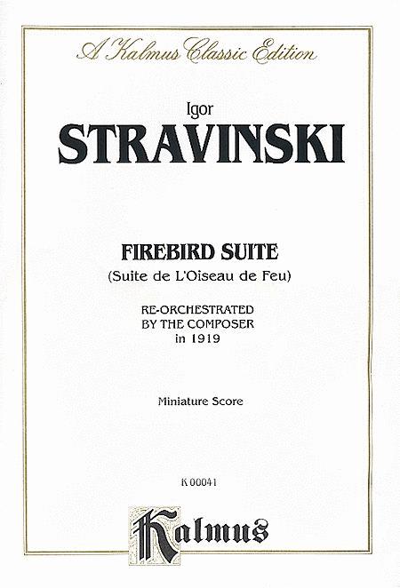Stravinsky Firebird Suite