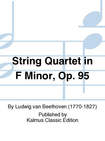 String Quartet in F Minor, Op. 95