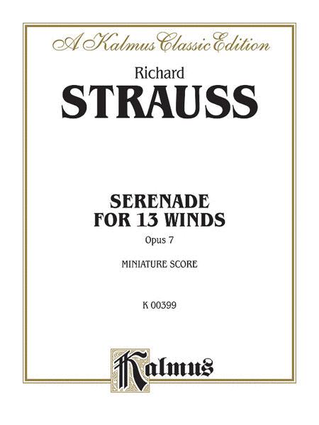 Serenade for 13 Winds, Op. 7