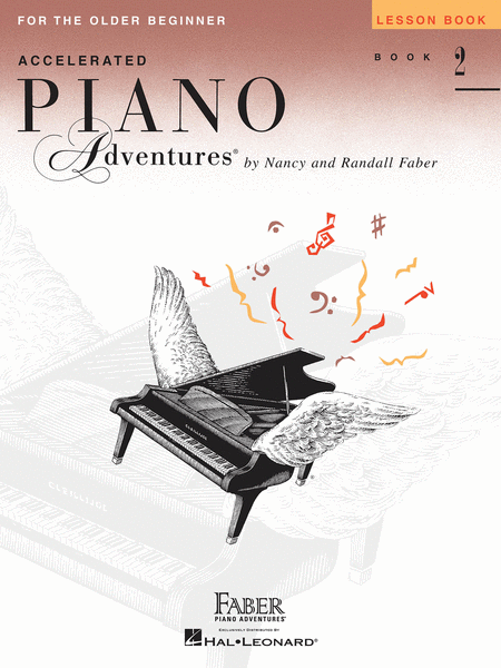 Accelerated Piano Adventures for the Older Beginner, Lesson Book 2
