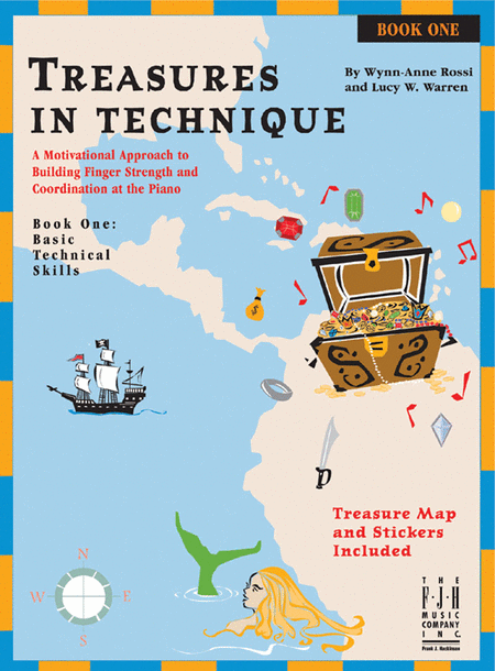 Treasures in Technique, Book One - Basic Technical Skills