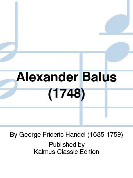 Alexander Balus (1748)