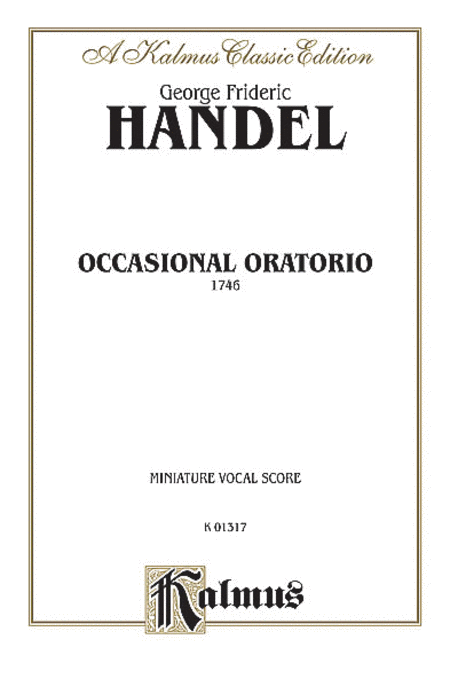 The Occasional Oratorio