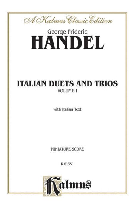 Italian Duets and Trios