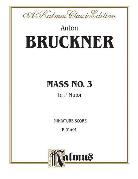 Mass No. 3 in F Minor
