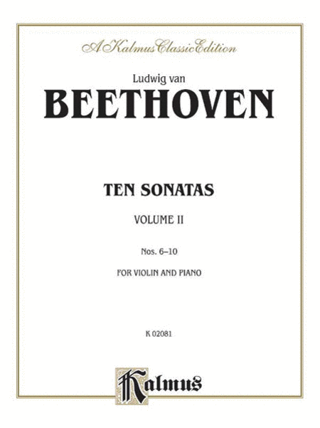 Ten Violin Sonatas, Volume 2