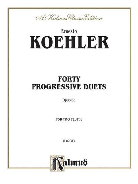 Forty Progressive Duets, Op. 55