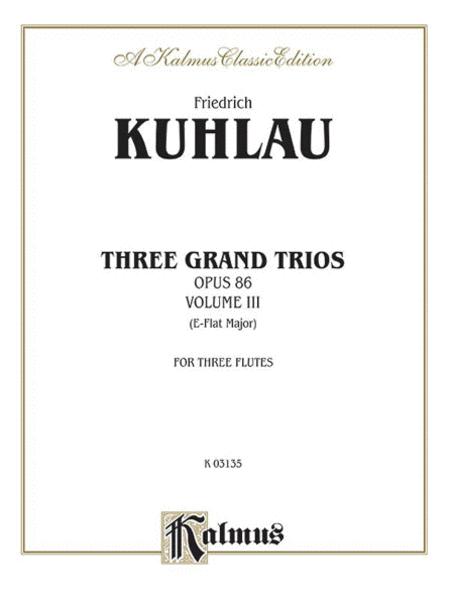 Three Grand Trios, Op. 86, Volume 3