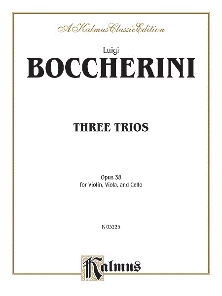 Three Trios, Op. 38
