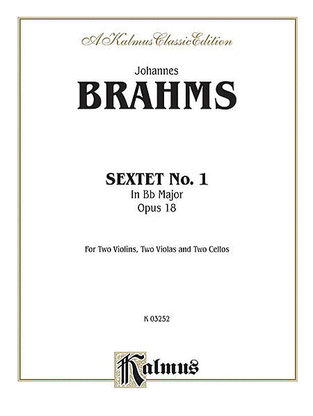 Sextet in B-flat Major, Op. 18