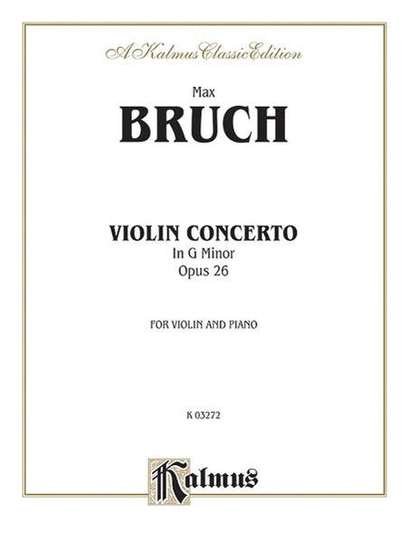 Violin Concerto in G Minor, Op. 26