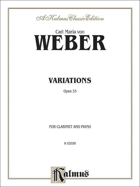 Variations, Op. 33