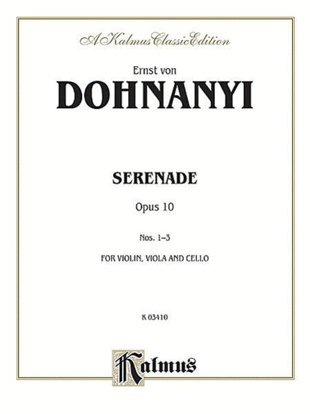 Serenade, Op. 10