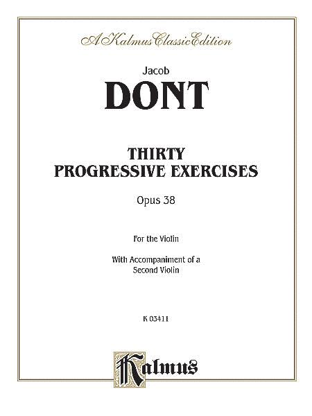 Thirty Progressive Exercises, Op. 38