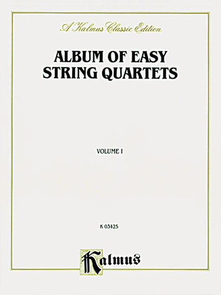 Album of Easy String Quartets, Volume 1