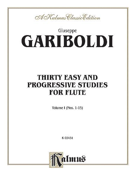 Thirty Easy and Progressive Studies, Volume 1