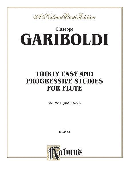 Thirty Easy and Progressive Studies, Volume 2