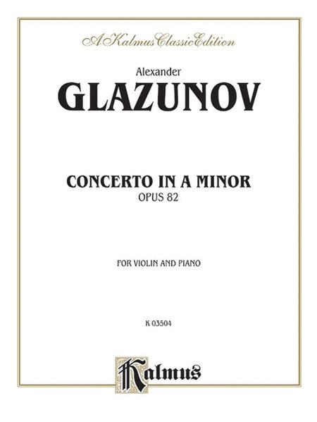 Concerto in A Minor, Op. 82