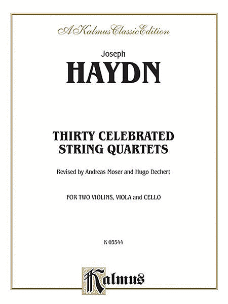 Thirty Celebrated String Quartets, Volume 2