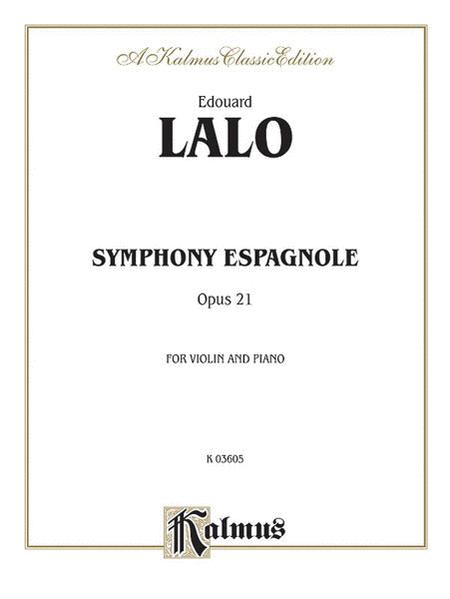 Symphony Espagnole, Op. 21