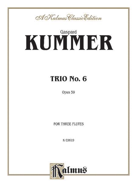 Trio No. 6, Op. 59
