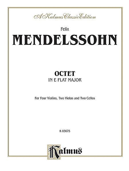 String Octet in E-flat Major, Op. 20