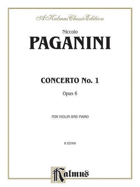 Concerto No. 1, Op. 6